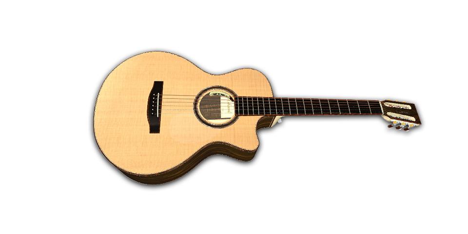 Hier eine Vorschau von Michas Gitarre